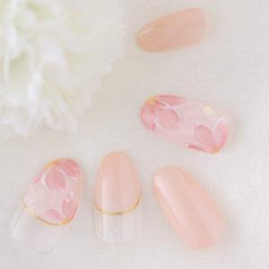 新百合ヶ丘ネイルサロン 桜ネイル