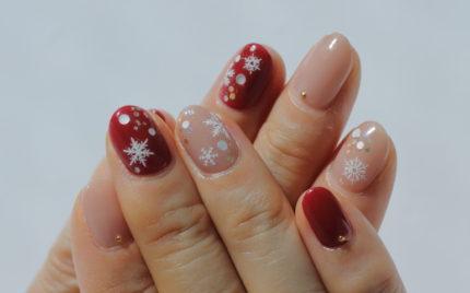 雪の結晶ネイル~新百合ヶ丘ネイルサロン