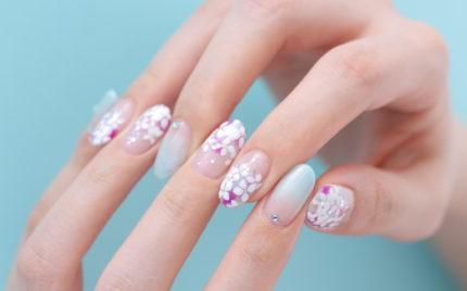 紫陽花ネイル~新百合ヶ丘ネイルサロン