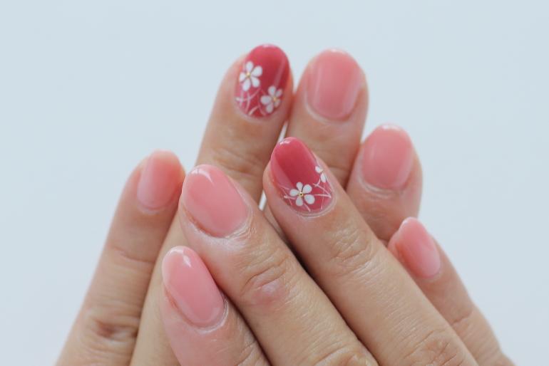「ネイルマーナ」小花柄ネイル2020~新百合ヶ丘ネイルサロン