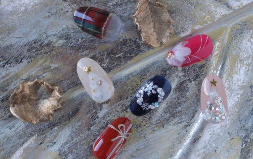 「ネイルマーナ」クリスマスネイルデザイン2020~新百合ヶ丘ネイルサロン