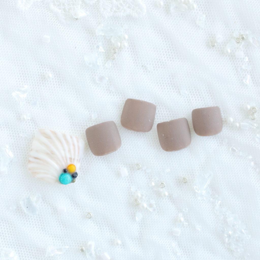 新百合ヶ丘パラジェル&カルジェルネイルサロン「ネイルマーナ」貝殻ネイル2021